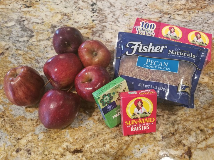 apple raisin salad